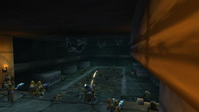 Crypt in Dragonblight - Shooting Ghouls