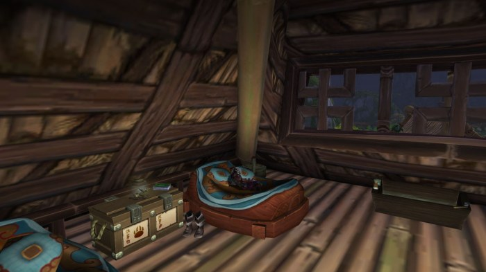 Backston sleeping in Halfhill