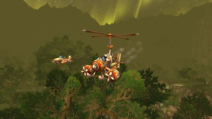 Plane Attack Sholazar