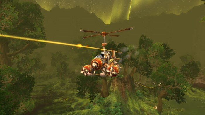 Sholazar Plane Attack