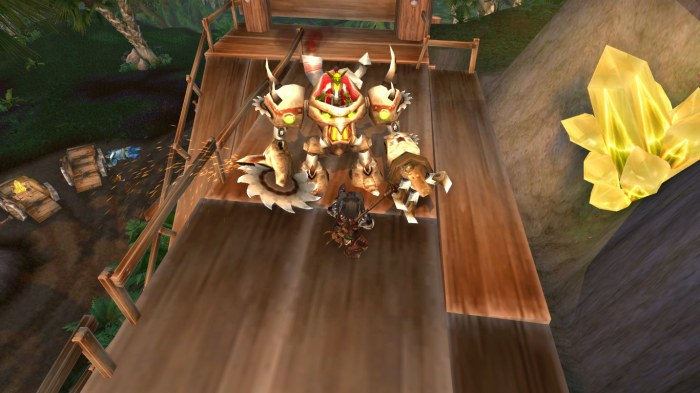 Goblin leader of trade company