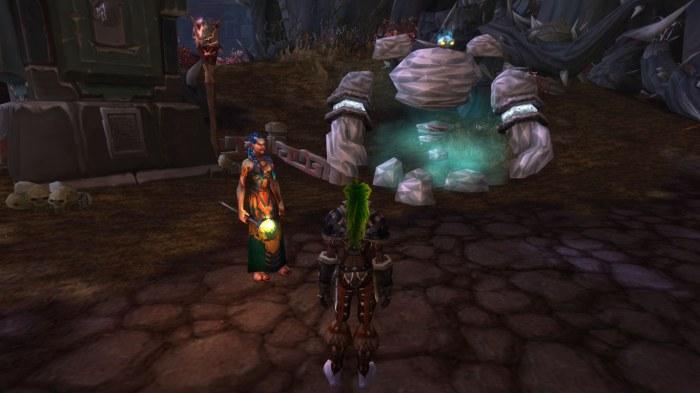 Troll shaman girl in Zim'Torga