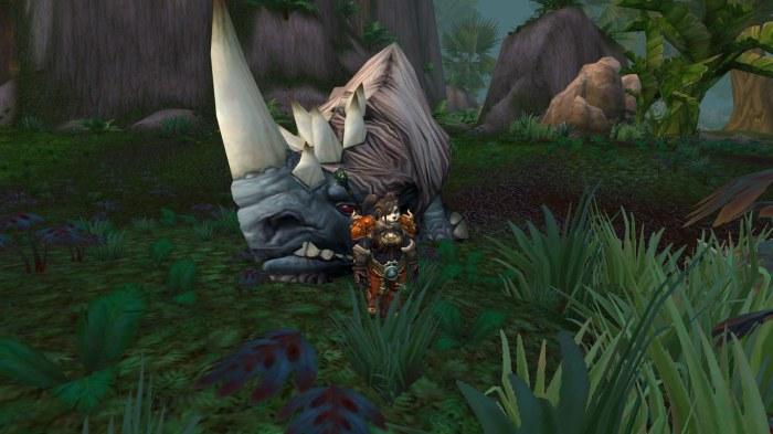 Rhino at Sholazar