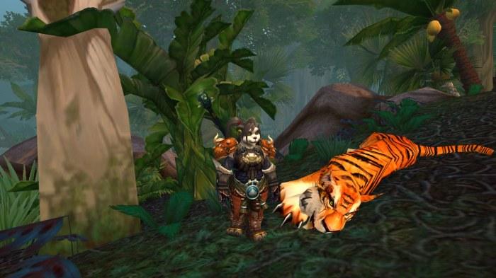 Tiger at Sholazar