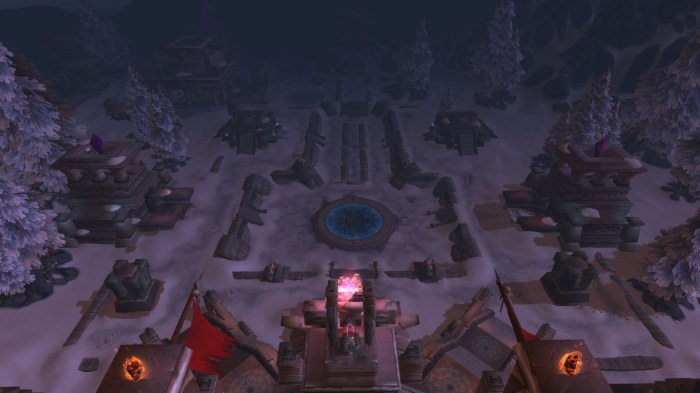 Gundrak from the top
