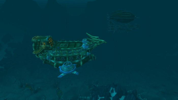 Alliance Airship in Icecrown