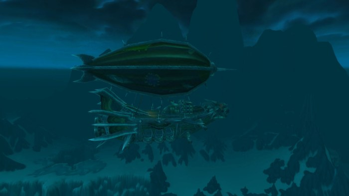Horde Airship in Icecrown