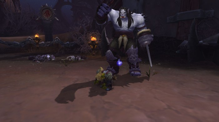 Kargath Bladefist in Spires of Arak