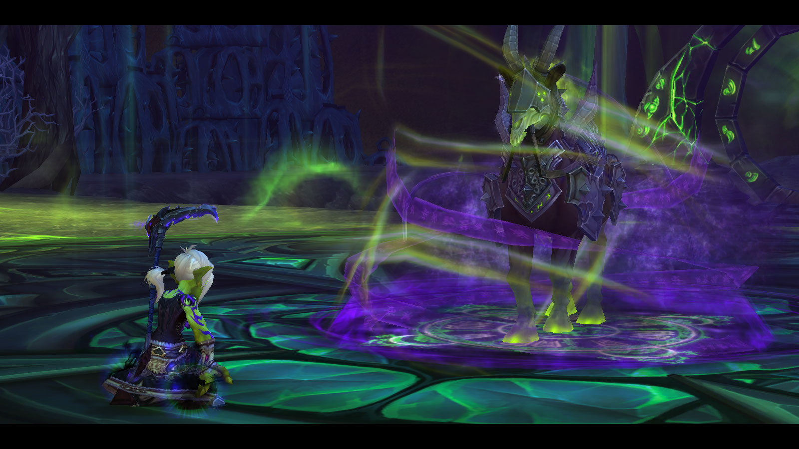 Warlock Class Mount / Join preach & ghost as they start with the.