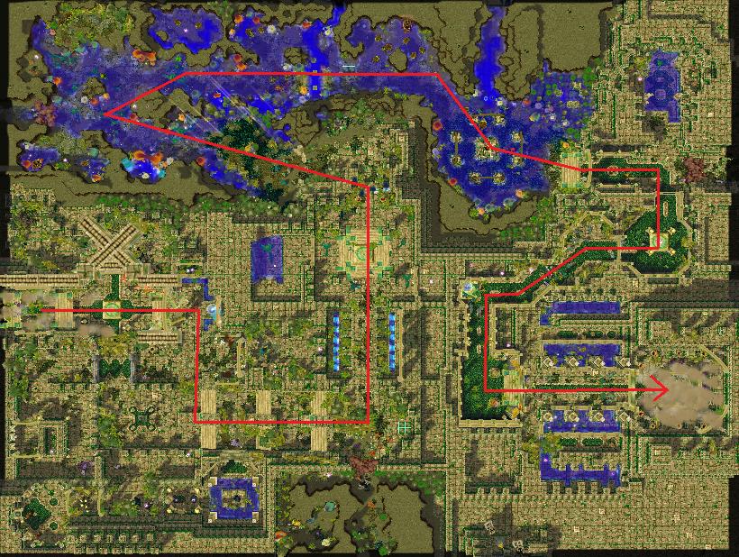 warcraft 3 frozen throne maps