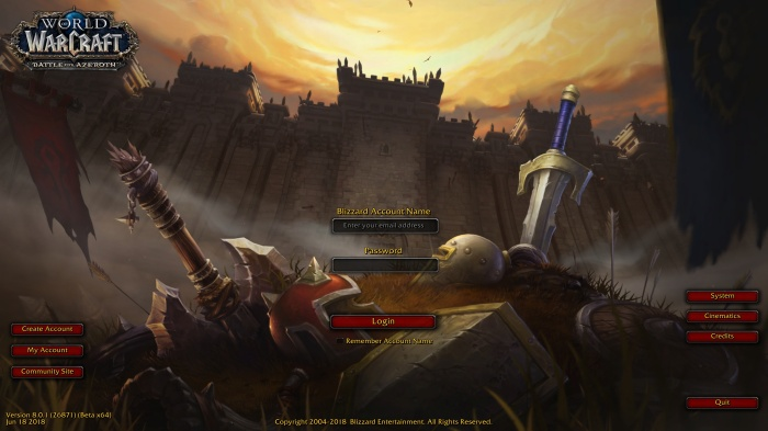 Battle-for-Azeroth-login-screen