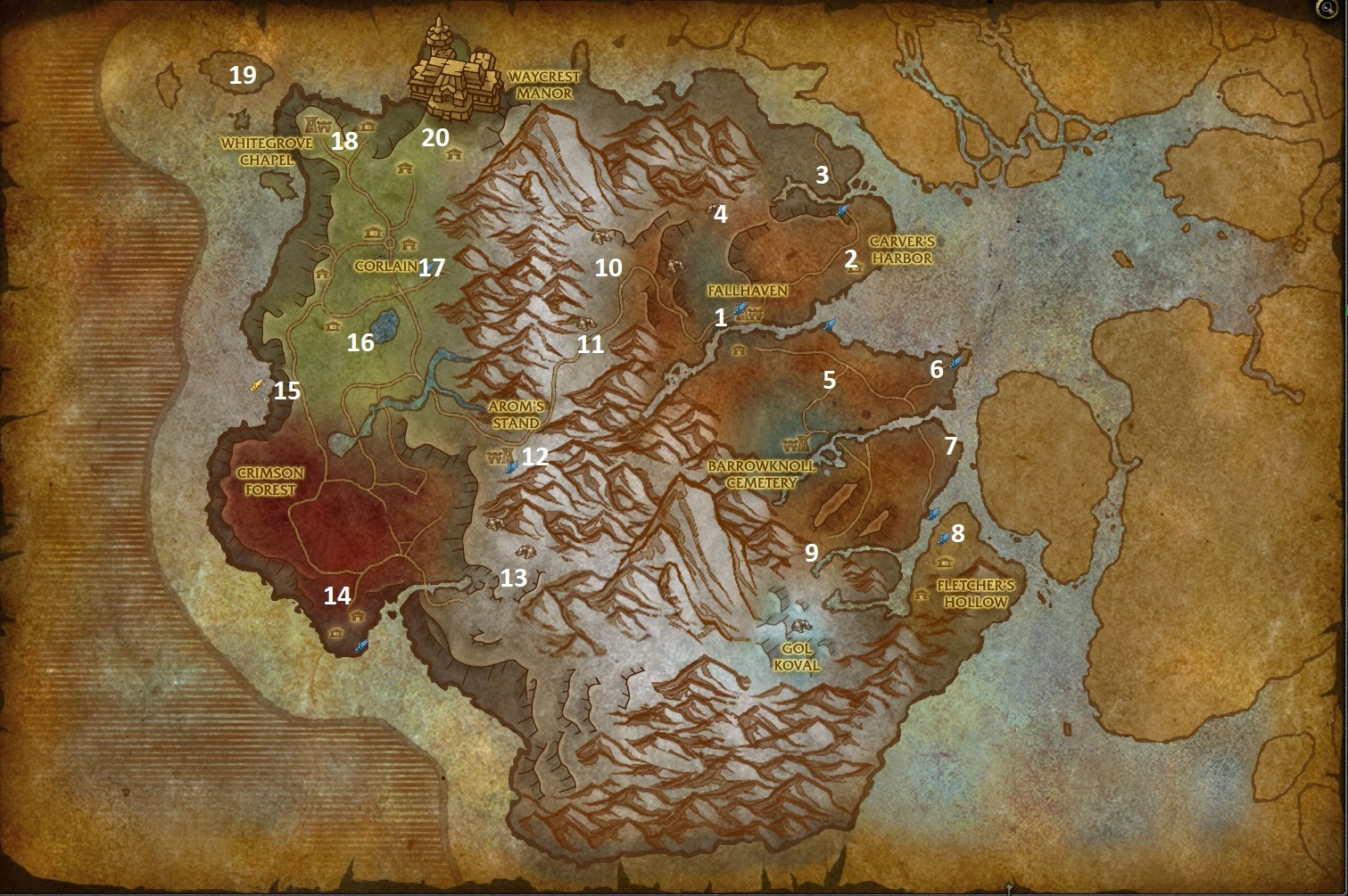 battle for azeroth leveling guide