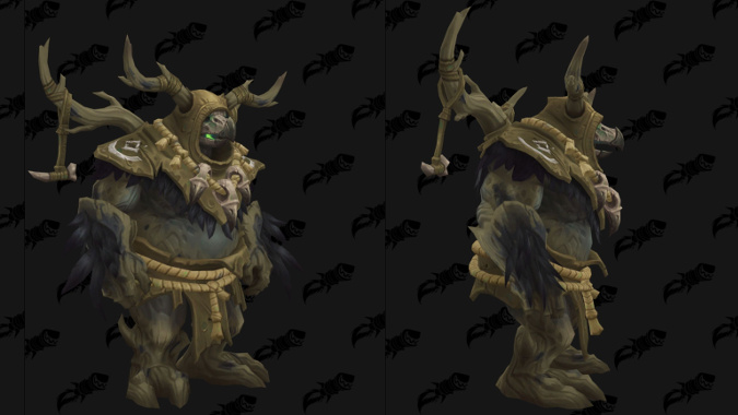 Kul Tiran Druid Moonkin