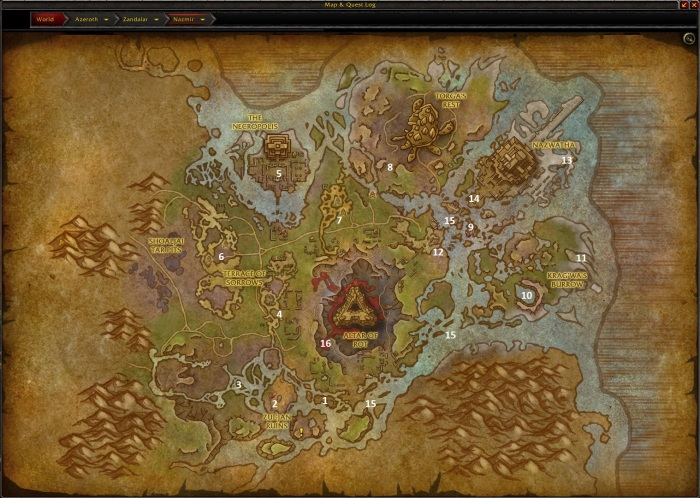 nazmir-leveling-map