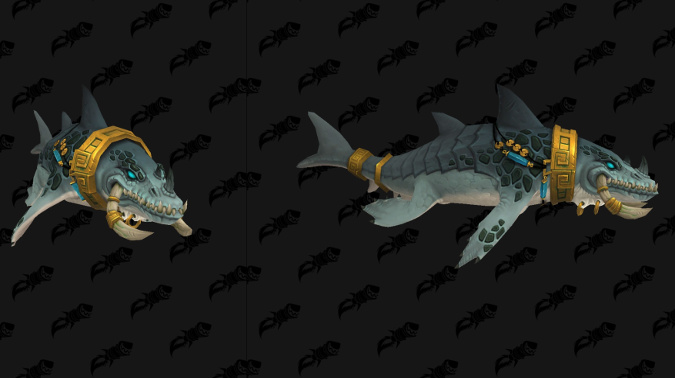 Zandalari Aquatic Druid Form