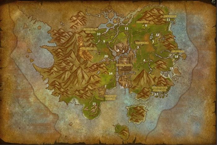 zuldazar-leveling-map