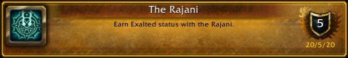 Rajani-Exalted