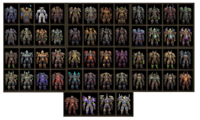 Warrior-Transmog-Sets