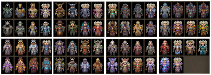 Mage-Transmog-All-Sets-Vanilla-Draenor